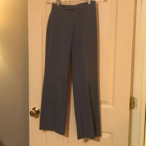 Smokey blue casual pants from BR. Size 0
